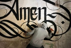 AMEN / Action Shot  - Phase01 BODY by sectiongraphix
