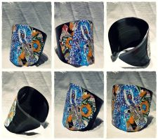 Torn Paper Vinyl Record Cuff by Plushbox