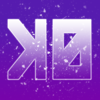K0 Icon - Purple - Particle by k0rus