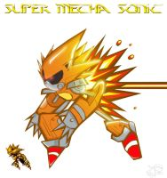 Super Metal Sonic by Gadiku