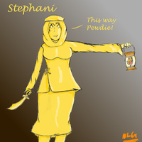 Pewdiepie- Stephani by Crazydhampiremeep