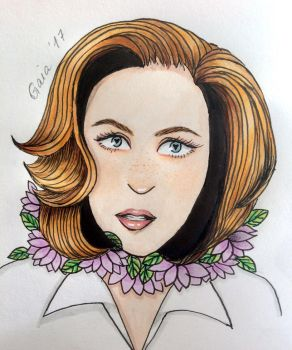 Scully  by lavenderguts