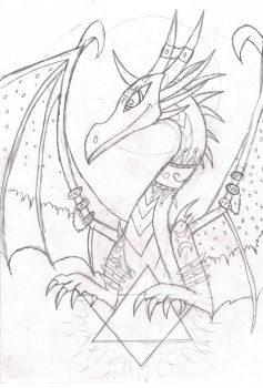 Cosmos dragon by Viperwings