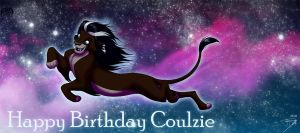 HAPPY BIRFDAY COULZIE by DJ88