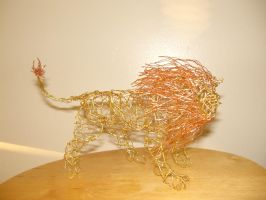 Wire Zodiac: Leo by charraj