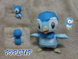 Piplup by turtwigcuTey