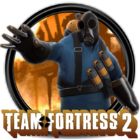 Team Fortress 2 - BLU Pyro by Omega6047