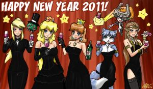 Happy New Year 2011 by johnjoseco
