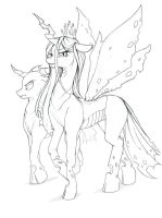 Changeling Queen by Longinius-II