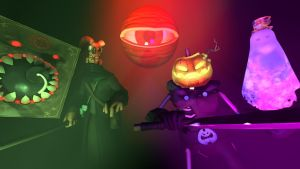 Halloween Horrors - SFM by Darrtaa