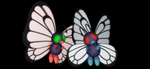 MMD Newcomer XY Butterfree + DL by Valforwing