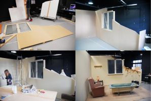 set construction by Kimbell