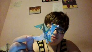 Detailed Origami Dragon by HerHeart107