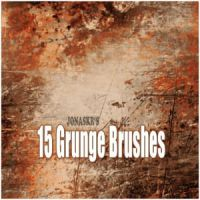 Rust Grunge Brushes by download12342