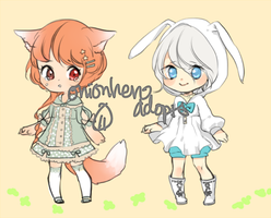 Adopts 4: prince-fatso and niaro by onionhero