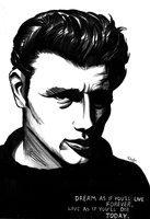 James Dean by Pickador