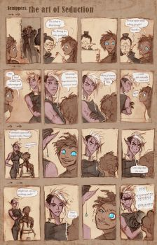 Scrappers: The Art Of Seduction by Dyemelikeasunset