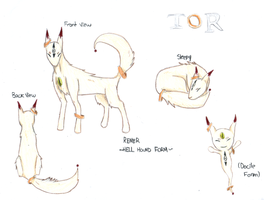 TOR Rener Hell Hound Form by 1pieceluver