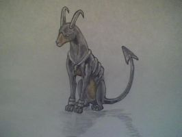Houndoom by ItsMeLucario