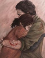 Last of Us- Joel and Ellie by iaterocks
