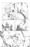 MurderMan Pencil Page #15 by TommyDamnInks