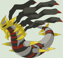 Pokemon Base 119~Giratina 2~ by Xbox-DS-Gameboy