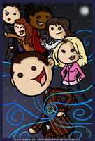 Doctor Who - iPhone Wallpaper by shrimp-pops