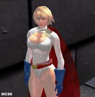 Power Girl by The-Mind-Controller