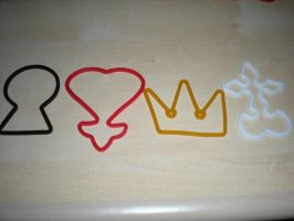 Kingdom Hearts silly banz by Catherinex13