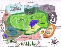 Wildale Map with titles by FerreTrip