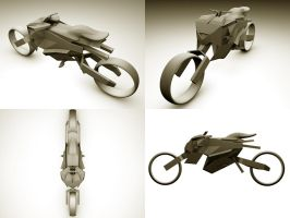 Clay Bike by MT-y