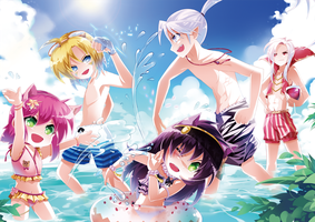 League Of Legends's Summer for vacation by HamiFR