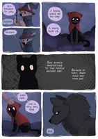 Little Wolf and Black Cat - 17 by Detrah