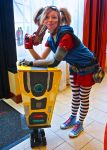 Gaige with Claptrap - Borderlands 2 by Cory-Hate