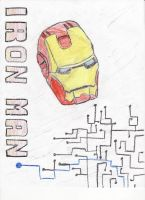 Iron Man crayons by bmarvel777