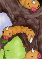013 - Weedle by Clorin-Spats