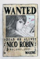 one piece wanted, nico by lea33