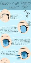 Anime Eye Coloring Tutorial by chelsosaurus