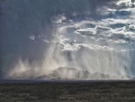 Rain Storm Over The Mountains by whendt