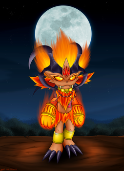 Collab: Ifrit Weavile by sunlight28