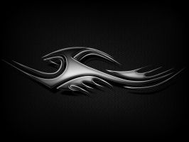 Carbon fiber tribal fill by funeral666