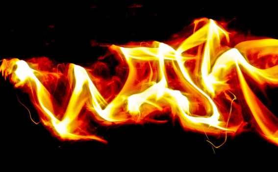 Fire painting by Wise76