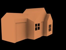 Quick 3D House by Intangibull
