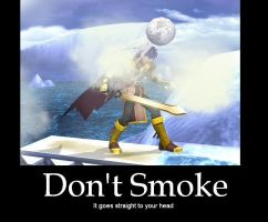 Smoke Ball Motivational Poster by SlienceMaster