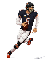 Chicago Bears- Jay Cutler 6 by DJCoulz