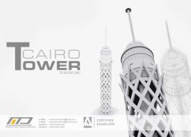 Cairo Tower Modeling by Dahish