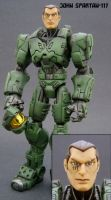 Master Chief Revealed by Jin-Saotome