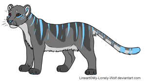 Big cat adopt by Lodidah