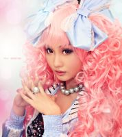 Alodia as Miwako by Mr-Vin