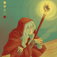 Raistlin in 17 by Kawee-Kawee